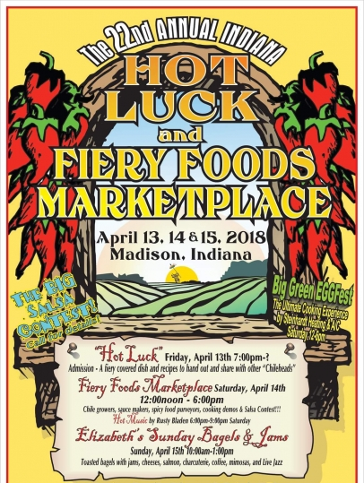 The 22nd Annual Hot Luck and Fiery Foods Marketplace