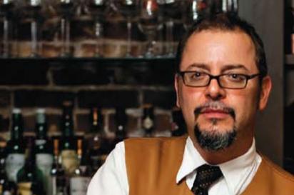César Pérez, server andassistant manager, Corbett'sRestaurant: An American Place
