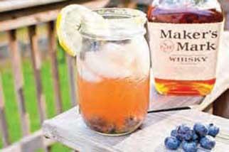 Blueberry Bourbon Cocktail