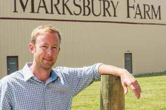 Cliff Swaim, sales and marketing manager and a new partner in the operation at Marksbury Farm