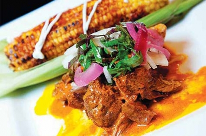 Cochinita Pibil with Roasted Mexican-style Corn on the Cob