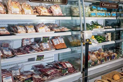 pre cut meat section Marksbury Market