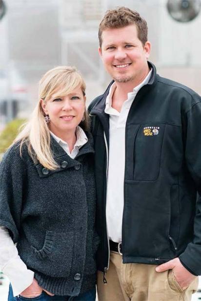 Mac and Amanda DeHart of Groganica