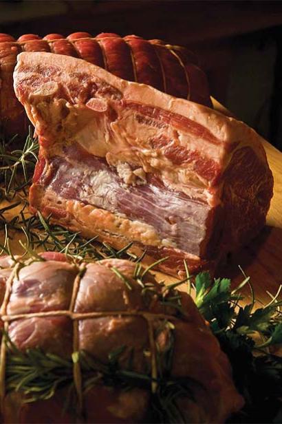 cuts of pork meat
