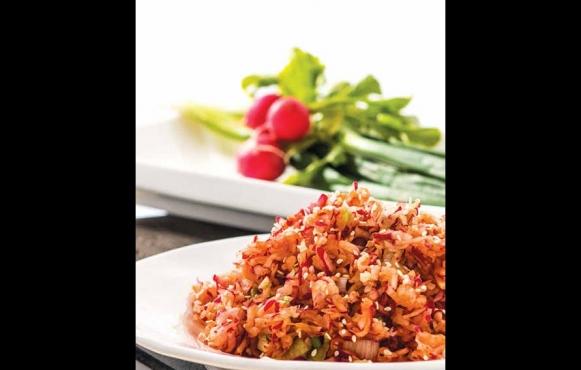 korean radish salad