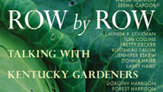row by row talking with gardeners