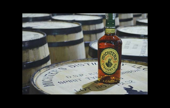 michters straight rye whiskey