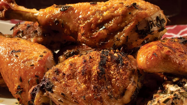 herbed grilled chicken